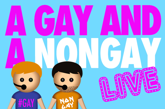 A Gay and a NonGay