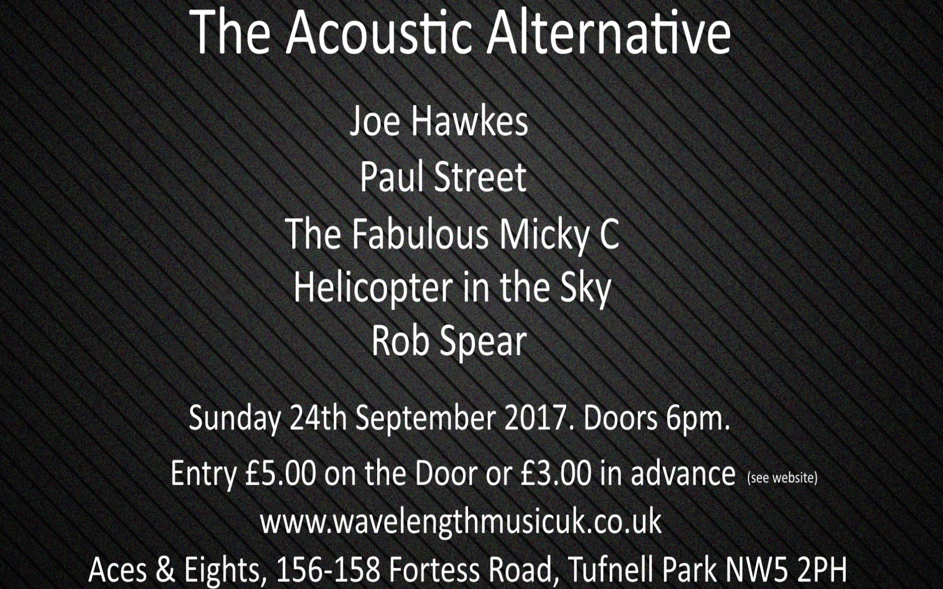The Acoustic Alternative